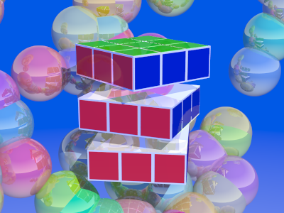 The key to solving the rubiks cube is to solve layers, not faces