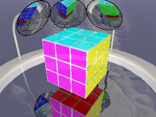 The rubik's cube all solved!