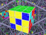 Rubik's Cube Pattern - Zig Zag